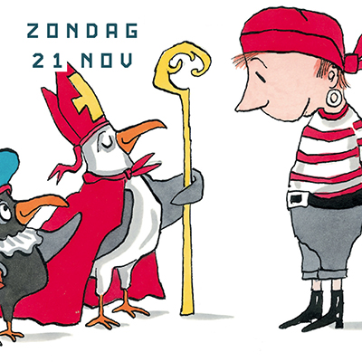 21 november Sinterklaas